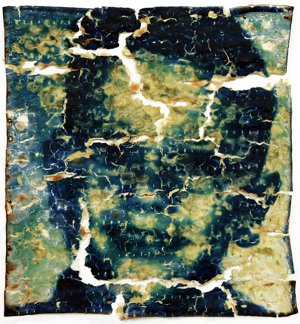 Cyanotype portrait of Franklin Dichter on matzo cracker.jpg