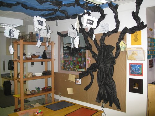Creative learning space in3 1/2 to 5 year old classroom