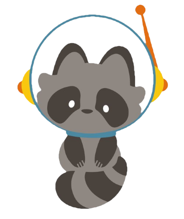 Lawnstock Raccoon