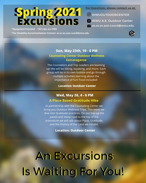 Excursion Calendar