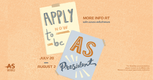 Apply Now for AS President